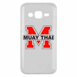 Чехол для Samsung J2 2015 Muay Thai Big M - FatLine