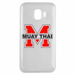 Чехол для Samsung J2 2018 Muay Thai Big M - FatLine