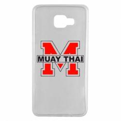 Чехол для Samsung A7 2016 Muay Thai Big M - FatLine