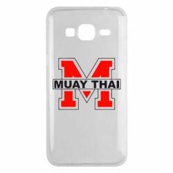 Чехол для Samsung J3 2016 Muay Thai Big M - FatLine