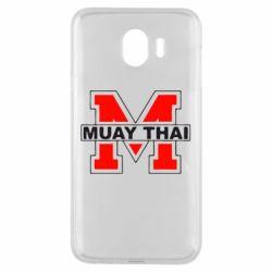 Чехол для Samsung J4 Muay Thai Big M - FatLine