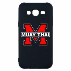 Чехол для Samsung J5 2015 Muay Thai Big M - FatLine