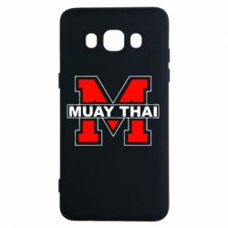 Чехол для Samsung J5 2016 Muay Thai Big M - FatLine