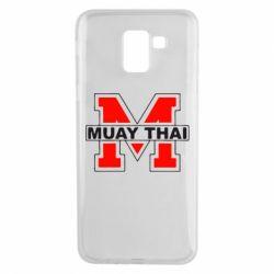 Чехол для Samsung J6 Muay Thai Big M - FatLine