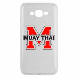 Чехол для Samsung J7 2015 Muay Thai Big M - FatLine