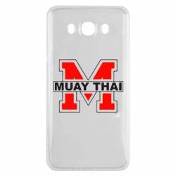 Чехол для Samsung J7 2016 Muay Thai Big M - FatLine