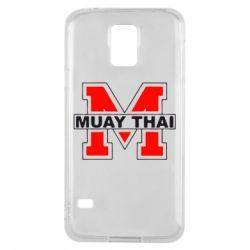 Чехол для Samsung S5 Muay Thai Big M - FatLine