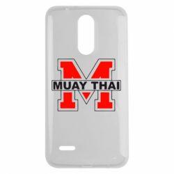 Чехол для LG K7 2017 Muay Thai Big M - FatLine
