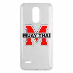 Чехол для LG K8 2017 Muay Thai Big M - FatLine