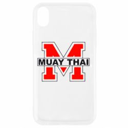 Чехол для iPhone XR Muay Thai Big M