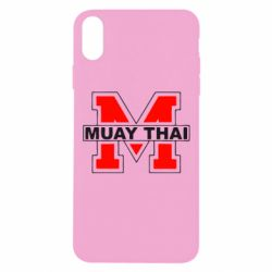 Чехол для iPhone Xs Max Muay Thai Big M