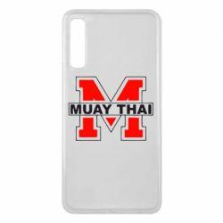 Чехол для Samsung A7 2018 Muay Thai Big M - FatLine