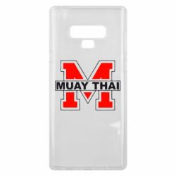 Чехол для Samsung Note 9 Muay Thai Big M