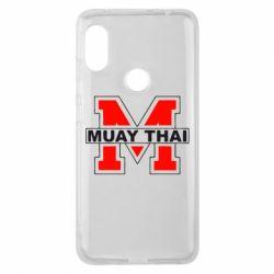 Чехол для Xiaomi Redmi Note 6 Pro Muay Thai Big M - FatLine