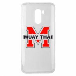 Чехол для Xiaomi Pocophone F1 Muay Thai Big M - FatLine