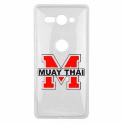 Чехол для Sony Xperia XZ2 Compact Muay Thai Big M - FatLine