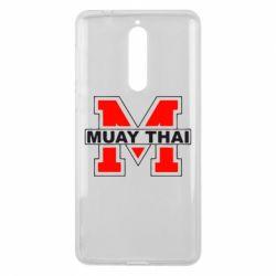 Чехол для Nokia 8 Muay Thai Big M - FatLine