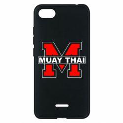 Чехол для Xiaomi Redmi 6A Muay Thai Big M - FatLine