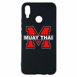 Чехол для Huawei P Smart Plus Muay Thai Big M - FatLine