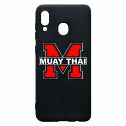 Чохол для Samsung A20 Muay Thai Big M