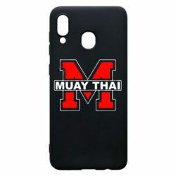 Чохол для Samsung A30 Muay Thai Big M