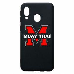 Чохол для Samsung A40 Muay Thai Big M
