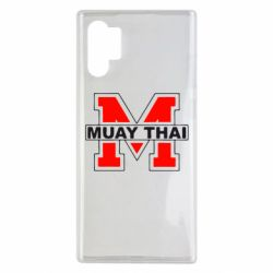 Чехол для Samsung Note 10 Plus Muay Thai Big M