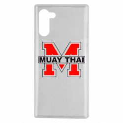 Чехол для Samsung Note 10 Muay Thai Big M