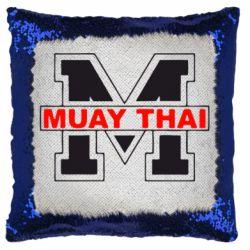 Подушка-хамелеон Muay Thai Big M