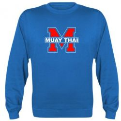 Реглан (свитшот) Muay Thai Big M