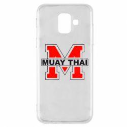 Чехол для Samsung A6 2018 Muay Thai Big M - FatLine