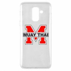 Чехол для Samsung A6+ 2018 Muay Thai Big M - FatLine