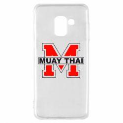 Чехол для Samsung A8 2018 Muay Thai Big M - FatLine