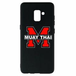 Чехол для Samsung A8+ 2018 Muay Thai Big M - FatLine