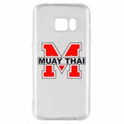 Чехол для Samsung S7 Muay Thai Big M - FatLine