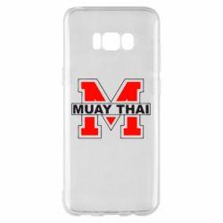 Чехол для Samsung S8+ Muay Thai Big M - FatLine