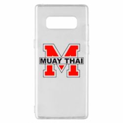 Чехол для Samsung Note 8 Muay Thai Big M