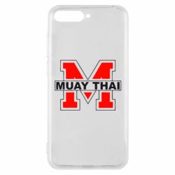 Чехол для Huawei Y6 2018 Muay Thai Big M - FatLine