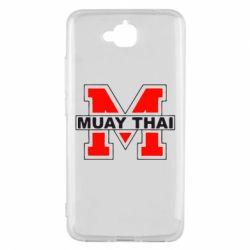 Чехол для Huawei Y6 Pro Muay Thai Big M - FatLine