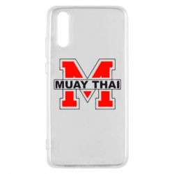 Чехол для Huawei P20 Muay Thai Big M - FatLine