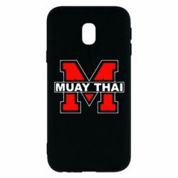 Чехол для Samsung J3 2017 Muay Thai Big M - FatLine