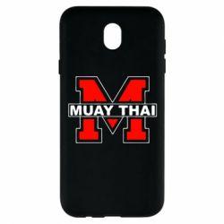 Чехол для Samsung J7 2017 Muay Thai Big M - FatLine