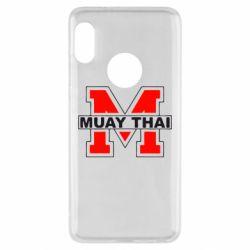 Чехол для Xiaomi Redmi Note 5 Muay Thai Big M - FatLine