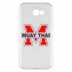 Чехол для Samsung A7 2017 Muay Thai Big M - FatLine