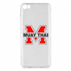 Чехол для Xiaomi Xiaomi Mi5/Mi5 Pro Muay Thai Big M - FatLine