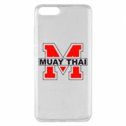 Чехол для Xiaomi Mi Note 3 Muay Thai Big M - FatLine