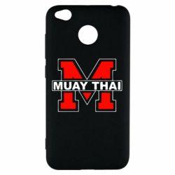Чехол для Xiaomi Redmi 4x Muay Thai Big M - FatLine