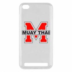 Чехол для Xiaomi Redmi 5a Muay Thai Big M - FatLine