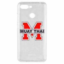 Чехол для Xiaomi Redmi 6 Muay Thai Big M - FatLine