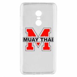 Чехол для Xiaomi Redmi Note 4 Muay Thai Big M - FatLine